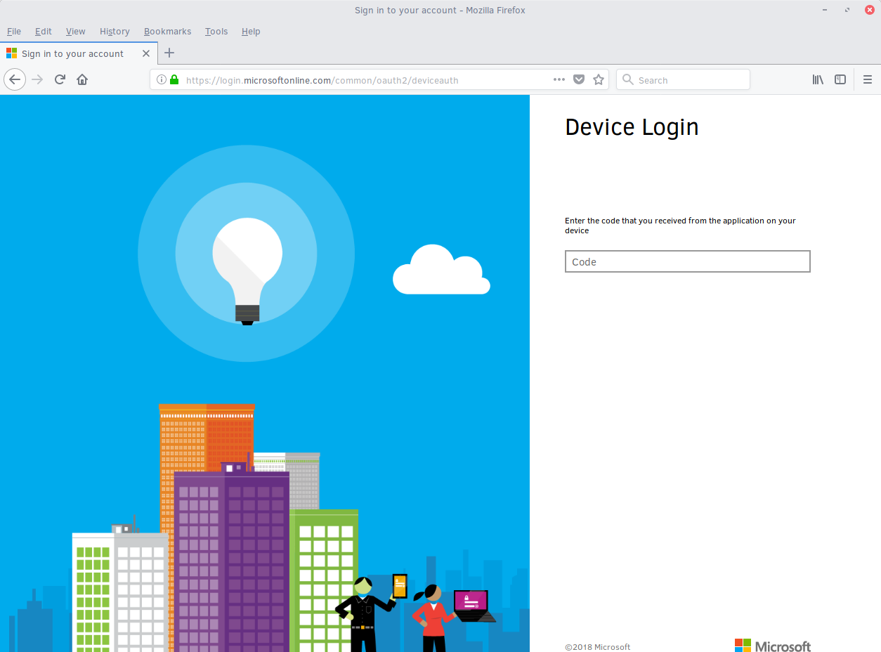 Microsoft Device Login